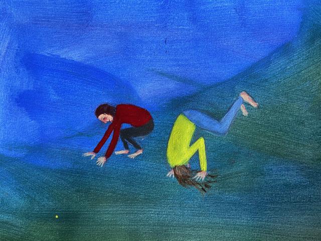 Marika Sarha Kuperkeikka maalaus